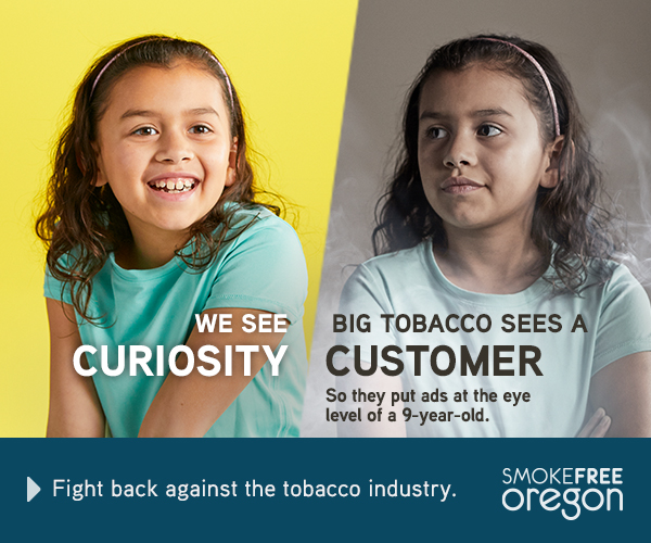 Child with bright yellow background: We see curiosity. 