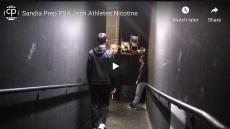 Sandia Prep PSA Josh Athletes Nicotine. Students walk down a hallway