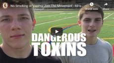 Dangerous Toxins. Two teens on a football field